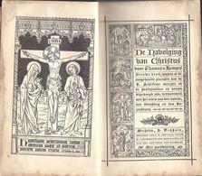 De Navolging Van Christus Door Thomas A Kempis. - Antique