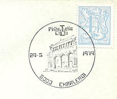 Belgium Special Day Cancel Universite Du Travail, Charleroi 24/5/1979 - Monumenten