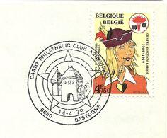 Belgium Special Day Cancel Trierpoort En Sint Pieterskerk, Bastogne 14/4/1979 - Kerken En Kathedralen