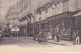 Cpa-49-Angers-magasin  De M. Quignon Rombach, 6 Rue Chaussée Saint-Pierre-représentant  De La Montre Oméga -animée - Angers