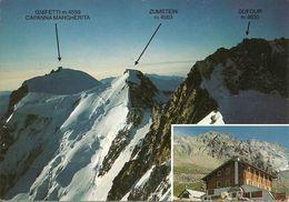Macugnaga (Verbano, Piemonte) Rifugio Zamboni - Zappa E Panorama Monte Rosa - Verbania