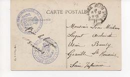 Le Havre 13 06 1916   Magasins D'artillerie Et Du Genie - Armée Belge