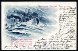Beleg 1898, Deutsche Tiefsee-Expedition In Die Antarktis, Offizielle Expeditions-Postkarte Von Der Zwischenstation In Or - Stamps