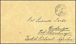 10 C., Rs. Als Verschlußmarke Auf Brief Mit Seltenem Stempel SHASI 8/11 10, Via Hankow Und Shanghai (14/11 10) An Das Fr - Stamps