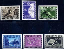 ** Landesbilder, Abart: Ungezähnt, Tadellos Postfr. Serie. (Michel: 1/6U) - Stamps