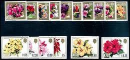 ** Blüten, Abart: Ungezähnt, Tadellos Postfr. Serie. Als Kpl. Ausgabe In Ungezähnter Erhaltung Sehr Selten. (Michel: 554 - Stamps