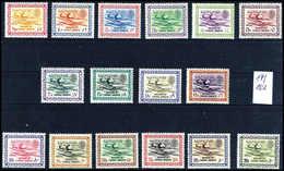 ** 1960/61, Ölscheideanlage, 16 Werte, Tadellos Postfr. Serie. (Michel: 87/102) - Stamps