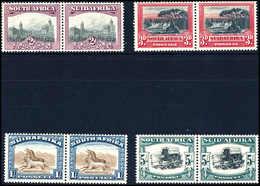 ** 2 Und 3 P. Sowie 1 Und 5 Sh., Tadellos Postfr., Waagr. Paare.<br/><b>Katalogpreis: 171,-</b> (Michel: 29/32A,35/36A,9 - Stamps