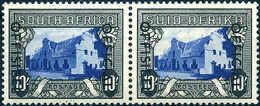 ** 10 Sh., Tadellos Postfr. Waagr. Paar.<br/><b>Katalogpreis: 140,-</b> (Michel: 98/99) - Stamps
