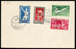 Olympische Sommerspiele 1924, Tadelloser Blanko-FDC Mit Stempel DAMAS 31/12 24. (Michel: 227/30) - Stamps