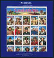 ** Pickett, Unverausgabt, Tadellos Postfr. Im Kleinbogen Mit 19 Anderen Marken. (Michel: I) - Stamps