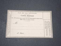 RÉUNION - Carte Précurseur Non Utilisé - L 14286 - Réunion (1852-1975)