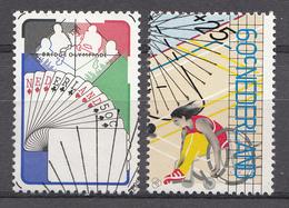 Pays-Bas 1980  Mi.nr: 1163-1164 Sport  Oblitérés / Used / Gestempeld - Periode 1980-... (Beatrix)