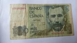 1 Billet Espagnol De 1000 Pesetas De 1979 - [ 4] 1975-… : Juan Carlos I