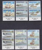 Falkland Islands 2001 Royal Navy Ships 6v  (pair) ** Mnh (37774) - Falklandeilanden