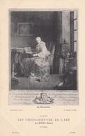 LA SERINETTE. CHARDIN PINX. L CARS, SCULP. G.P. LES CHEFS D'OEUBRE DE L'ART AU XVIIIs.-TBE-BLEUP - Peintures & Tableaux