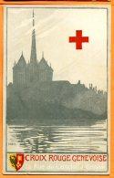 A481, Genève, Croix Rouge Genevoise, 18 Rue De Candolle, édit. Sonor Genève, Non Circulée - Croce Rossa