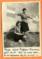 A501, Eclaireuses Suisses, Exercice De Morse, Swizzerland, Schweiz, Foto Steiner Bern, Scout, GF, Circulée 1940 - Scouting