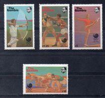 GAMBIE  Timbres Neufs ** De1989  ( Ref 5076 )  Sport -  JO - Gambie (1965-...)