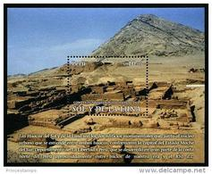 Peru (2013) Yv. Bf. 69  /   Archaeology - Archeologie - Arqueologia - The Sun And The Moon - Sol Y Luna - Archeologie
