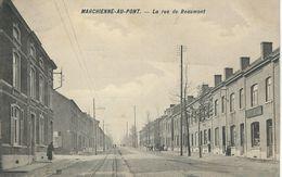 MARCHIENNE-AU-PONT : Le Rue De Beaumont  - RARE VARIANTE - Charleroi