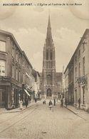 MARCHIENNE-AU-PONT : L'Eglise Et L'Entrée De La Rue Neuve - RARE VARIANTE - Charleroi