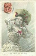 Belle Femme   ,    Au Temps Des Cerises        AF436 - Femmes