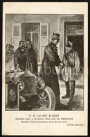 Postcard / ROYALTY / Belgique / Roi Albert I / Koning Albert I / Ph. Demoulin / Feluy Arquennes / 1912 - Seneffe