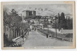 Cap Bon Etat , Italie , Rivoli Torinése,  Piemont   Panorama Catena Del Monti, Carte Rare , Timbre Courrier Au Verso - Rivoli