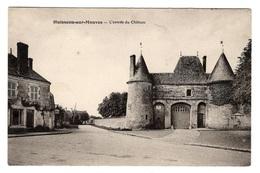 45 LOIRET - HUISSEAU SUR MAUVES L'entrée Du Château - Francia