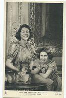 Postcard Royal Family Rp Princess Elizabeth AND MARGARET ROSE. Tuck's  Unused - Case Reali