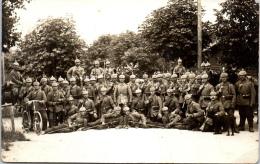 MILITARIA - 1914-1918 - CARTE PHOTO Allemands, 13e Regt Feld Masch - Guerra 1914-18