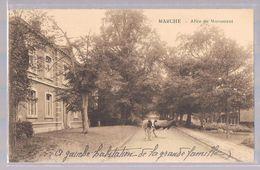 MARCHE - En - FAMENE . Allée Du Monument . - Marche-en-Famenne