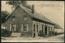 80 - Somme - Salouel Maison Mantel Dufour, Charon Forgeron RARE - Autres Communes