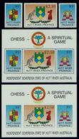 Schach Chess Ajedrez échecs - Hutt Rivier (Australia) 1991 - Schach