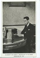 Postcard Royal Family Rp His Majesty The King George 6th Broadcasting To The Empire   Tuck's - Familles Royales