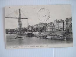 CPA 44 NANTES Embarcadère Des Bateaux Au Quai De La Fosse 1908 T.B.E. - Nantes