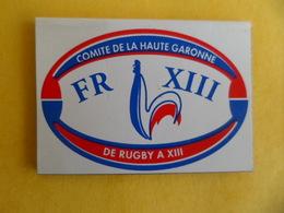 Magnet Sport CLYP'S Rugby à XIII Comité Haute Garonne - COQ - Voir Photos - Sports
