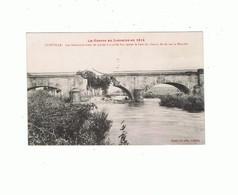 54_LUNEVILLE_les Allemands Avant De Quitter Luneville Font Sauter Le Pont De Chemin De Fer - Luneville