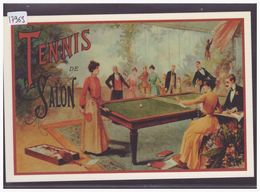 SPORTS - REPRO DE L' AFFICHE: TENNIS DE SALON - PING PONG - TB - Tischtennis