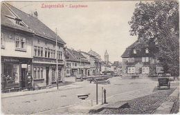 GERMANY 1912 (16.4.) PICT.PC LANGENSALZA (Langstr.) USED - Cartes Postales