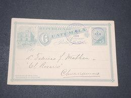 GUATEMALA - Entier Postal En 1904 Pour Chuarramos - L 14311 - Guatemala