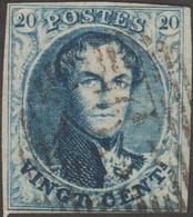 Belgique 1858 COB 11A, 20 C Médaillon Arrondi. P 163 Floreffe - Postmark Collection