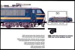 BE   BL61   XX   ---   Le Train : Transports Publics - Blocs 1962-....