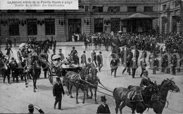 Postcard / ROYALTY / Belgique / België / Roi Albert I / Reine Elisabeth / Joyeuse Entrée Famille Royale / Liège / 1913 - Liège