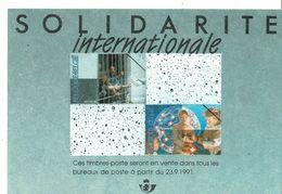 Fiche Publicitaire  Timbre  2422 à 2423 - 2424 à 2426 - 2435 à 2436 - 2438 - Belgique