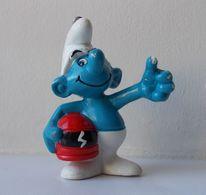 - SCHTROUMPF - Schtroumpf Pilote De Course - Peyo 1991 - - Smurfs
