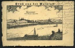 Gruss Aus Der MAIN LUFT - RUSSELSHEIM - D.R.G.M. 105180 -  Viaggiata1906 - Rif. 05425 - Ruesselsheim