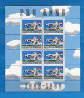 Svizzera ** - 1988 - FOGLIETTO,PRO AEREO. Vedi Descrizione - Blocks & Sheetlets & Panes
