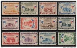 Honduras 1959 SC C289-C300 MNH Lincoln - Honduras